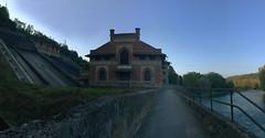 (Paolo Cozzarizza) Tags: italia lombardia monzabrianza cornatedadda acqua sentiero muro alberi