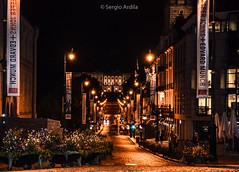 Karl Johans Gate (Oslo) (serarca) Tags: karl johans gate oslo noruega norway street avenue ciudad city calle avenida noche night principal