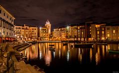 Portofino (mwjw) Tags: universal studios orlando florida mwjw markwalter nikond800 nikon24120mm portofino lowes resort nightshot longexposure
