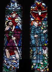 SS Christopher & Francis (Aidan McRae Thomson) Tags: rugby church catholic warwickshire stainedglass window edwardnuttgens