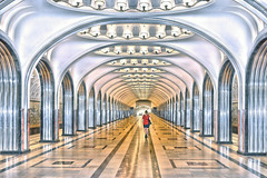 infinity (poludziber1) Tags: moscow moskva city colorful capital cityscape underground subway urban travel traffic train people summer street russia challengegamewinner