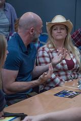 Meet & Greet (StephenieEloise) Tags: scotcon outlander edinburgh graham mctavish
