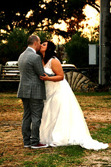 just_married (sara.b0485) Tags: wedding bride grom nature kiss love italy married sneakers converse unconventional