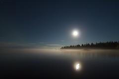 Beautiful moonlit night. (Igor Prozorov) Tags: kolapeninsula september russia moonlight nightscapephotography samyang10mm28 samyang canon600d canon