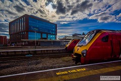 ChesterRailStation2016.09.22-5 (Robert Mann MA Photography) Tags: chesterrailstation chesterstation chester cheshire chestercitycentre trainstation station trainstations railstation railstations arrivatrainswales class175 class150 virgintrains class221 supervoyager class221supervoyager merseyrail class507 city cities citycentre architecture nightscape nightscapes 2016 autumn thursday 22ndseptember2016 trains train railway railways railwaystation