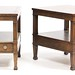 73. Pair of Mahogany End Tables