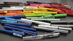 Lamy Safari collection 2012-11-08 (Lamy 2000) Tags: lamy lamysafari lamyalstar lamyjoy