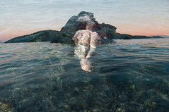 the spirit of the isle (Vasilis Amir) Tags: sea woman abstract motion blur water girl sunrise island exposure experimental doubleexposure double amir transparency transparent drowning vasilis  mygearandme mygearandmepremium mygearandmebronze vasilisamir
