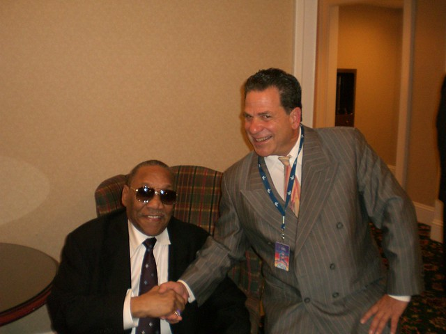 Mitch and Bobby Blue Bland @ Blues Awards
