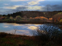 Kinghorn Loch Final _5961 (gentoo2) Tags: manipulated landscape landscapephotography kinghornloch droppedinsky