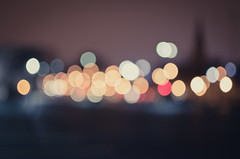 City Lights (Rares M. Dutu) Tags: city love photography darkness bokeh circles hipster citylights nightlife bokehlights d7000 nikond7000