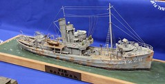 HMS Sir Galahad (SHMR) Tags: sir galahad hms ipms modelshow scalemodelworld telford2012 internationalplasticmodellingsociety