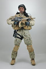 Congratulations, Mr. President... (edwick) Tags: actionfigure saw boots military m249 seal obama bodyarmor aor hottoys navyseal 16scale sixthscale aor1 tacticalvest soldierstory mark46
