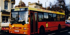 N28 FWU (jeff.day48) Tags: bath orangegrove daf 419 ikarus brightorange 8303 citibus de02ltsb220 firstbadgerline n28fwu