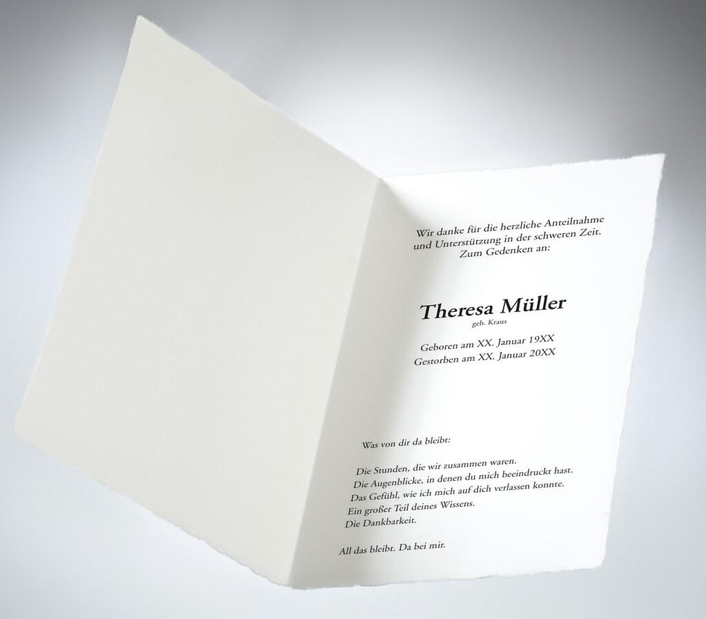 Trauerkarten drucken memento trauerkarten tags memento gestalten druck persönlich drucken danksagung dankeskarte trauerkarte