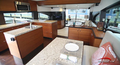 Hatteras 60 Motor Yacht (BoatTEST.com) Tags: test layout design review performance boating yachts motoryacht cruisers countrykitchen hateras aftdeck interiorfeature hatteras60my 60motoryacht
