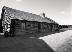 Project:1812 - Fort Niagara (.:Axle:.) Tags: bw usa blackwhite 645 unitedstates pentax kodak fort trix hc110 niagara 400tx historic fortification 6x45 warof1812 militaryhistory youngstown fortniagara pentax645 seige kodaktrix400 militay dilutionb frenchindianwar smcpentaxa64535mm135