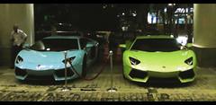 AVENTADORS (Nicolai Sidek) Tags: blue baby green cars hotel italian italia prince ferrari exotic malaysia lime lamborghini supercar tmj aventador lp700 lp7004