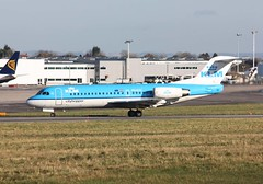 Photo of PH-KZC Fokker 70, KLM Cityhopper, Lulsgate, 11 November 2012
