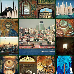 Turkey - Istanbul, city of past, present and future.. Thank you, my dear Masha, for this wonderful journey :))) (Katarina 2353) Tags: travel autumn windows vacation history fall film turkey temple photography photo nikon asia europe flickr day image mosaic interior islam religion trkiye istanbul mosque dome empire spirituality orient bluemosque pillars turks istambul romanempire byzantine masha constantinople byzantium placeofworship virtualtour sultanahmetcamii orientalart colorimage famousplace ottomanempire easternromanempire traveldestination turkishculture katarinastefanovic katarina2353
