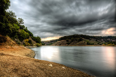 Stainless (eCHstigma) Tags: california longexposure lake nature clouds forest landscape nikon tokina ultrawide castrovalley hdr d600 1735mmf4