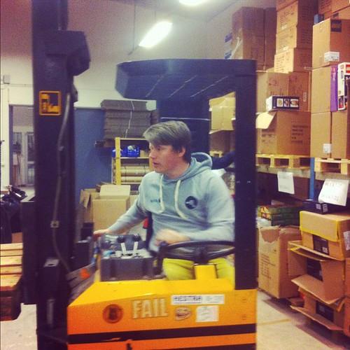 Årets truckförare @tonerkungen