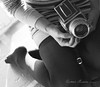 Hassy (Carmen Moreno Photography) Tags: bw selfportrait vintage hasselblad vintagecamera meandmycamera perceptionsofmyself vscocam