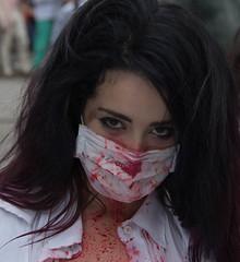 Zombie Walk SP - 2012 (Anselmo Almeida) Tags: pessoas zombie walk mulher centro olhos fantasia horror terror amizade praa boca homem confraternizao viaduto ch