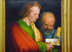 Dürer, The Four Apostles, John and Peter