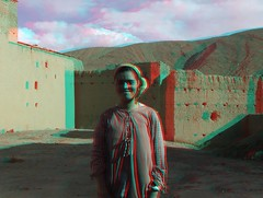 Tamtatouchtte village in the high Atlas, 3D photo (anaglyph) (Stereomania) Tags: rural stereoscopic stereophoto 3d anaglyph stereo morocco maroc atlas stereoview marokko 2012 stereophotographt tamtatouchtte