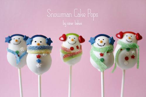 Christmas Wonderland Cake Pops