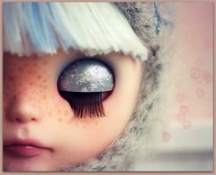 Winter (*Sweet Days*) Tags: alpaca doll sweet days blonde vanilla blythe custom simply petite fbl suri reroot sweetdays creayations