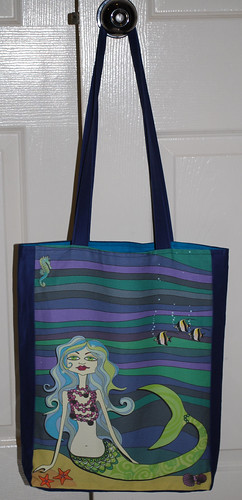 Tote bag -Ondine the mermaid & friends