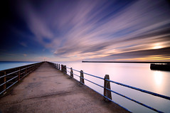 """A New-Haven"" (RF-Edin) Tags: longexposure england lighthouse pier nikon wideangle tokina explore newhaven explored leefilters"