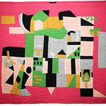 "<b>Midi, 1942 (after: Stewart Davis)</b><br/> Rebecca Kamm (Art Quilt, 2011)<a href=""http://farm9.static.flickr.com/8343/8241634733_cf54a2011e_o.jpg"" title=""High res"">∝</a>"