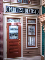 "Painless Dentist - Main Street Disneyland • <a style=""font-size:0.8em;"" href=""http://www.flickr.com/photos/85864407@N08/8244995125/"" target=""_blank"">View on Flickr</a>"