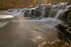 Sunshiny Postcard Falls (+David+) Tags: waterfall sunbeams intothesun corbettsglen allenscreek postcardfalls