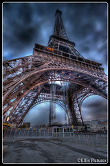 Beneath the Eiffel Tower (Ellis Pictures) Tags: