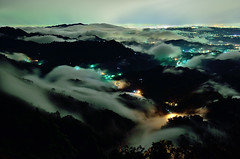 DSC_0638~5 雨後流雲  clouds and mists in the mountains,After the Rain..1 (michaeliao27) Tags: 大雪山 台中東勢