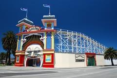 Luna Park, St Kilda, Melbourne (stephenk1977) Tags: face nikon entrance australia melbourne victoria vic lunapark rollercoaster polarizer stkilda scenicrailway d60 mrmoon