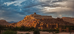 At Benhaddou (intrazome) Tags: travel sunset beautiful d50 nikon unesco morocco kasbah