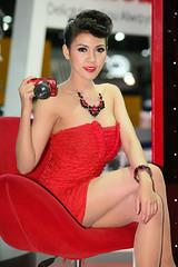 IG9C4916 (tony8888) Tags: car race thailand model pretty expo bangkok queen impact motor 2012 pretties