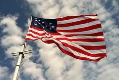 Ft. McHenry Flag (Steve4343) Tags: beautiful beauty flag d70 nikon park nps national service ft mchenry baltimore maryland md wind windy red white blue anthem star spangled banner francis scott key francisscottkey blinkagain abigfave mygearandme steve4343