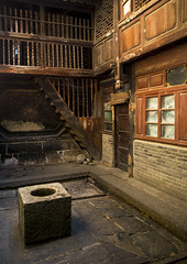 Courtyard Of An Old House, Xizhou, Yunnan Province, China (Eric Lafforgue) Tags: china house color colour building vertical architecture photography asia day outdoor nobody nopeople courtyard well  ornate yunnan kina chin cina chine buildingfront bai xina  eastasia  tiongkok xizhou  chiny  kna in buildingexterior colorpicture yunnanprovince colourimage   trungquc residentialstructure na   kitajska tsina      traditionallychinese  a0007332