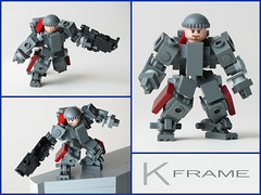 Kinetic Acceleration Combat Armor (mondayn00dle) Tags: dawn lego forge mecha mech hardsuit