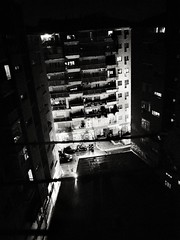 Eighth Floor (Yves Roy) Tags: street city shadow urban blackandwhite bw black roma contrast dark blackwhite raw moody 28mm snap rom yr italyrome fav10 ricohgrd blackwhitephotos grdiii yvesroy yrphotography tarblacknight grdiiiat