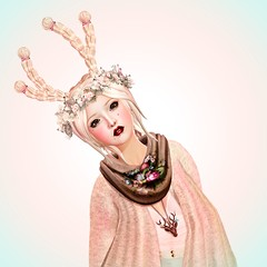 Feeling Deery (after) (Coffee ♥ Biscuit) Tags: secondlife 砂記子