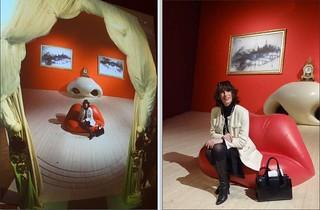 Inside a Dali painting / Dans un tableau de Dali