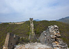 The Great Wall, Non Renovated, Beijing, China (Eric Lafforgue) Tags: china travel vacation mountain color colour brick tower history nature horizontal stone wall architecture composition fence wonder photography amazing asia solitude day image fort outdoor miracle empty extreme beijing nobody nopeople location unescoworldheritagesite step achievement stonewall greatwall copyspace badaling length setting ancientcivilization protection fortress brilliant touristattraction buildingfront topics greatwallofchina rockformation eastasia chineseculture pekin northchina capitalcity historicallandmark famousplace buildingexterior nationallandmark colorpicture kempinsky nonurbanscene fortifiedwall internationallandmark surroundingwall focusonforeground imagetype beijingprovince mg9717 builtstructure shuiguangreatwall