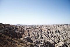 Badlands (Schuldenrein) Tags: sky beautiful southdakota nationalpark earth space badlands stark
